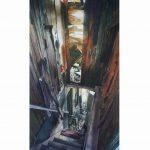 Abandoned House, Antrim Coast 45 x 25 cms £2,200