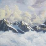 Snowy Mountain Screenshot – Photoshopped