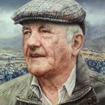 The Man from Donegal 42 x 32 cms £2,400