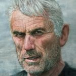 The Man from Donegal Town 64 x 44cms watercolour £4,300